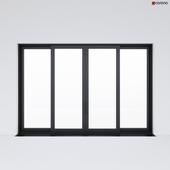 Sliding aluminum window (door) 2