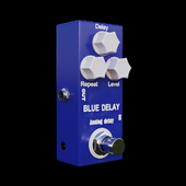 The Mosky Analog Blue Delay Foot Pedal