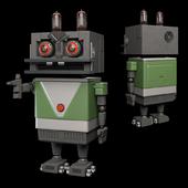 "Заяц-робот из ""Ну, погоди!"""
