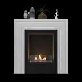 Animated bio fireplace Kristine
