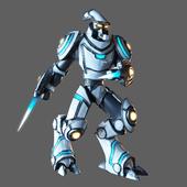 Protos robot-warrior