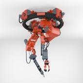 Industrial cutter with a manipulator