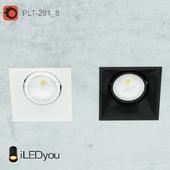 PLT-201_8 recessed rotary lamp