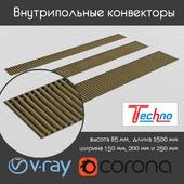Techno Usual floor convectors
