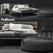 Poliform Onda Bed