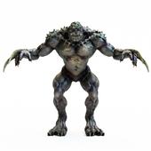 Green Wolverine Monster