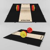 Weight lifting STECTER (3х3 meters)