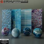 Marble slab & Seamless texture Set 17