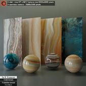 Marble slab & Seamless texture Set 19