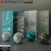 Marble slab & Seamless texture Set 20