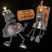 Robot from the planet Sheleziaka