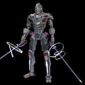 Cyberpunk Samuray