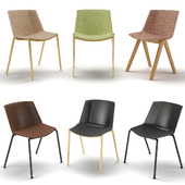 Chairs MDF Italia Aiku Soft