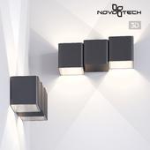 Landscaped LED wall light NOVOTECH 357401 KAIMAS