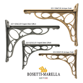 Shelf holders Bosetti Marella. Part 1