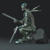 Robot-mercenary