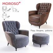 Moroso Papy Bergere armchair