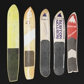 BURTON vintage snowboards Set-01