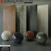 Design Effect slab & Seamless texture Set 29