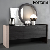 Chest of drawers Poliform Chloe night complements