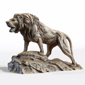 Sculpture of Leo