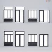 Aluminum window and balcony door ALUMIL