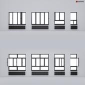Aluminum windows ALUMIL