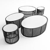 Kenneth Cobonpue Lolah Coffee Tables