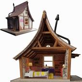 "Puppet miniature ""House"""