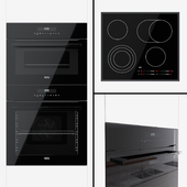 AEG - an oven BPR742320B, a compact oven KMR721000B and a hob HK565407FB