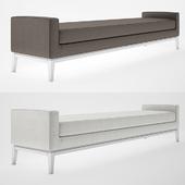 Italia Fabric Bench