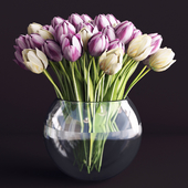A bouquet of flowers in a vase 3