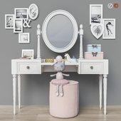 Dressing table ( 2 options for children, for adults) set 19
