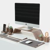Set for desktop iMac & Grovemade