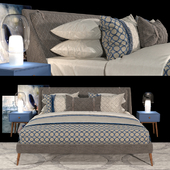Кровать CHELSEA - Berto salotti
