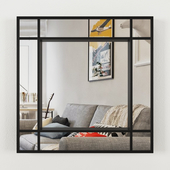 Mirror with double contour ZARA HOME