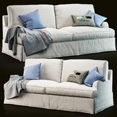 PB Russian Arm Slipcovered Sofa