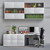 Cabinet for office_3