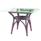 Sika Design Originals dining table square top multicolor