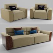Sofa and armchairs Bentley PORTOBELLO