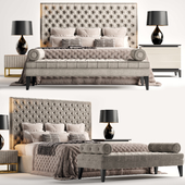 The Sofa & Chair Company Rossini Bed