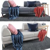 FLOTTEBO Sofa-bed 200x90 cm