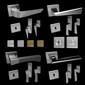 Handles for doors and windows Mandelli (4 pcs., 4 colors) 3