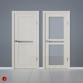 Veneered doors Bravo Euro bleached oak