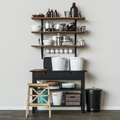 Kitchen decor set ikea