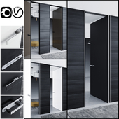 Rimadesio doors Aura _ doors for office and home