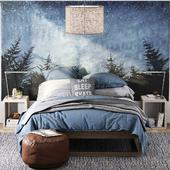 RH/ LAGUNA PLATFORM BED