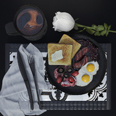 """To the contest """"Breakfast in bed"""""""