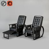 Chair Wittmann Sitzmaschine Chair by Joseph Hoffmann