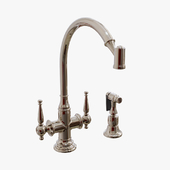 Kallista - Bacchus Kitchen Faucet with sidespray - P21563-00